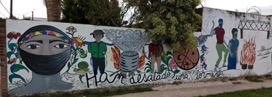 Figura 4. Murales en Puente de Fierro.
