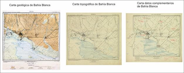 Hoja geológica, topográfica y de datos complementarios de Bahía Blanca. SEGEMAR